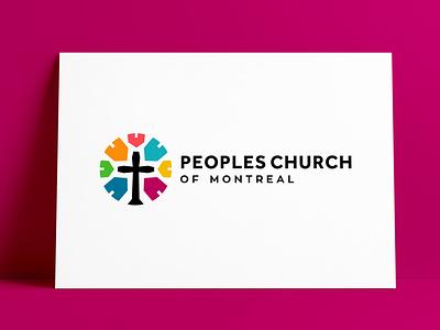 Peoples Church of Montreal Logo Redesigned by The Logo Smith logo redesign logo refresh logo update montréal montreal church branding church logo church logodesign brand logo designer brand identity logos typography branding identity portfolio logo logo design