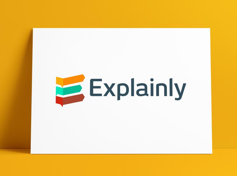 Explainly: Explainer Videos Logo Design by The Logo Smith explainer animation explainer videos explainer icons logo marks icon brand identity logo designer typography branding identity portfolio logo logo design
