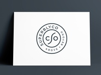 SuperblyCo Logo & Brand Identity Designed by The Logo Smith brand guidelines logo guidelines coffee cup letterhead stationery business cards monogram icons brand logo marks logo designer brand identity identity typography branding logo portfolio logo design