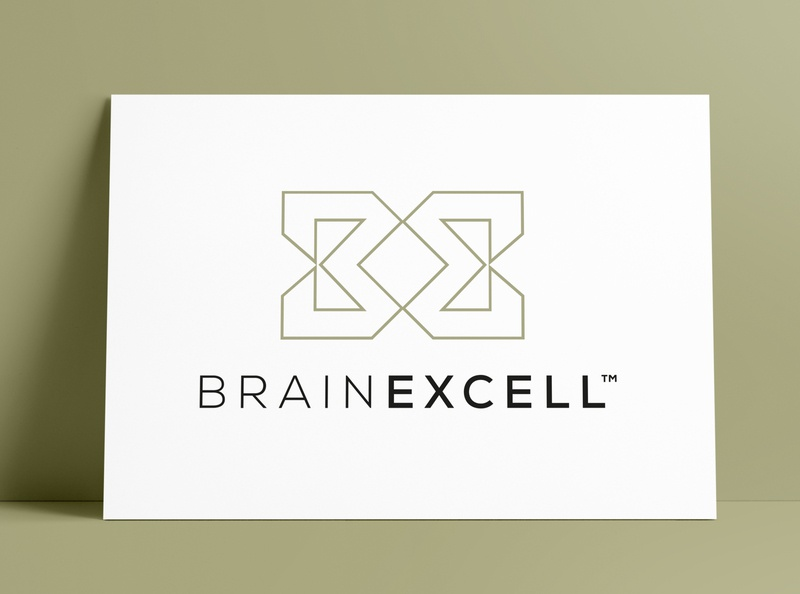 BrainExcell Logo & Product Packaging Design by The Logo Smith supplements health packaging design bottle mockup labeldesign package design packaging logo marks logos logo designer brand identity typography branding identity logo portfolio logo design