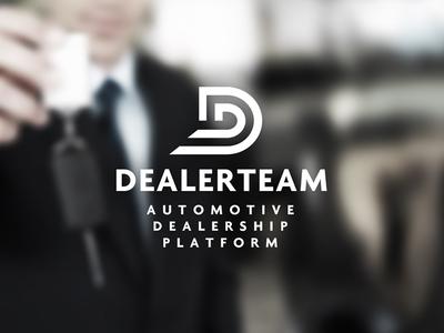 Dealerteam Logo Designed by The Logo Smith