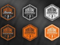 Puritone records logo versions design by the logo smith 600px