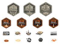 Puritone records logo roughs