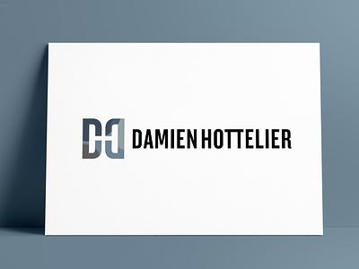 Damien Hottelier Logo Designed by The Logo Smith initials logo mark design symbols brand design brand logo marks icon logo designer brand identity logos typography branding identity portfolio logo logo design