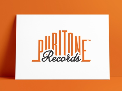 Puritone Records Logo & Record Label Designed by The Logo Smith music record label logotype icons logodesign brand icon logo marks logo designer brand identity logos typography branding identity logo portfolio logo design