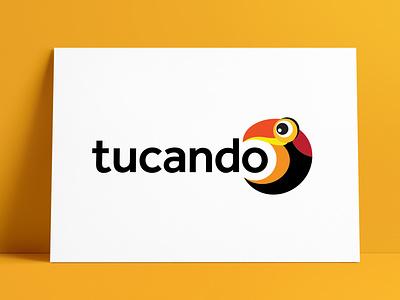 Tucando Logo Designed by The Logo Smith animal animal logo tucan brand icon logo marks logo designer brand identity logos typography branding identity portfolio logo logo design