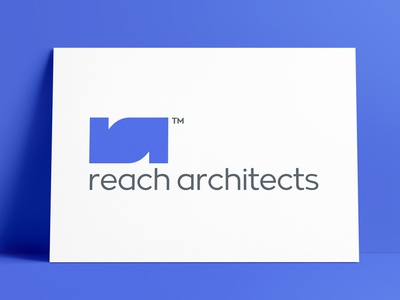 Reach Architects Logo Designed by The Logo Smith architechture architect brand design icon logo marks logo designer brand identity logos typography branding identity portfolio logo logo design