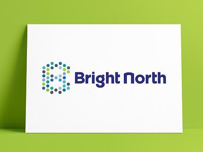 BrightNorth Logo Designed by The Logo Smith letter b circles dots initials design brand icon logo marks logo designer brand identity logos typography branding identity portfolio logo logo design