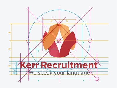 Kerr Recruitment Logo Design Specifications