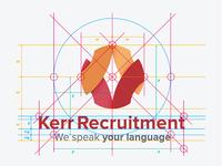 Kerr Recruitment Logo & Brand Identity Design