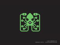 8-Bit Laughing Squid Logo
