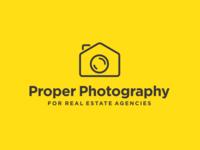Real Estate Photography Photographers Logo Design