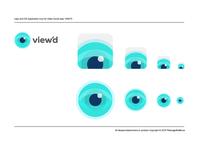 View'd Logo & iOS App Icon Design