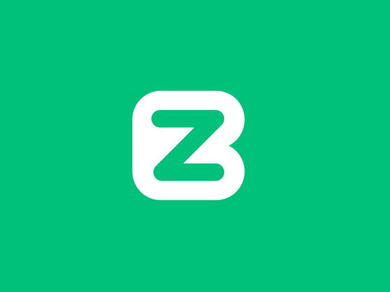 Baze iOS App Icon Logo Design type green icon app application ios identity branding logo design portfolio logo