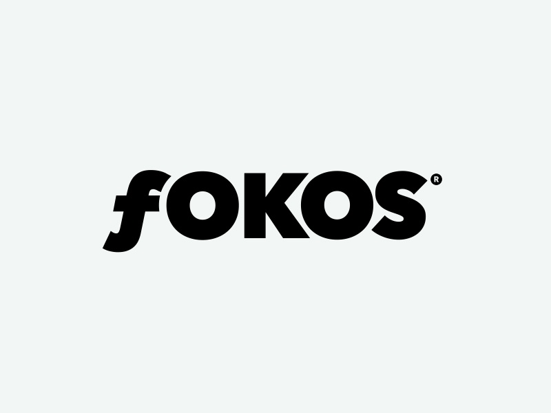 Fokos photography magazine logo and masthead design r