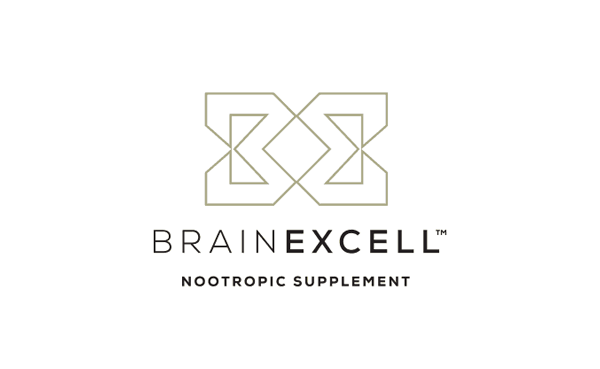 Brainexcell brain excell nootropic health logo design rev designed by the logo smith 2