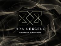 BrainExcell Nootropics Logo & Brand Identity Design