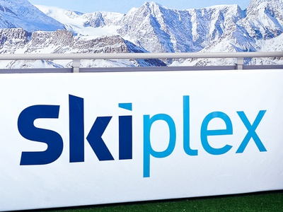 Skiplex Indoor Skiing Logo Designed By The Logo Smith