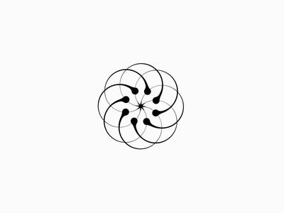 Male Fertilisation Laboratory & Clinic Logo Mark Concept
