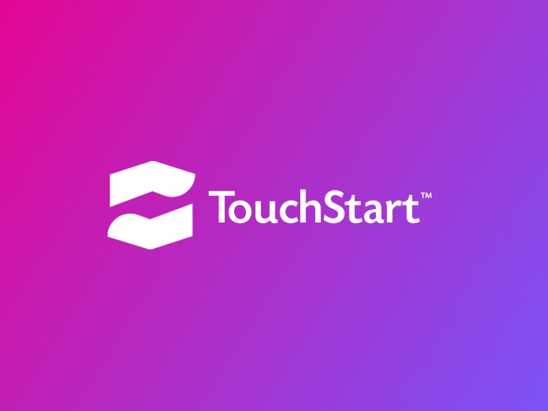 Touchstart touch id logo design by the logo smith 1