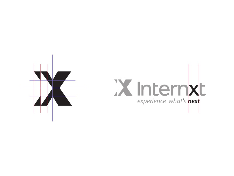Internxt x  logo design by the logo smith 5