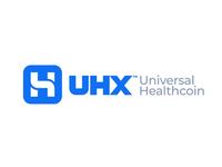 UHX: Universal Healthcoin Logo & Brand Identity Redesign