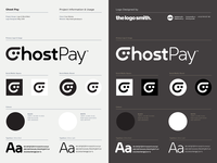 Ghost Pay Logo Designed By @TheLogoSmith