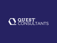 Quest Consultants Logo Designed By @TheLogoSmith