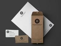 Viva Chocolate Logo & Brand Identity Design - Stationery