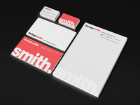 Brand Identity Update (Stationery etc) for @TheLogoSmith