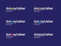 Antony Usher Estate Agency Logo & Brand Identity Design