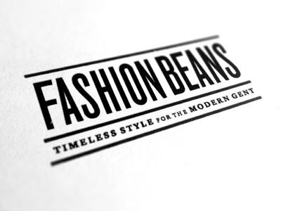 Fashionbeans logo design