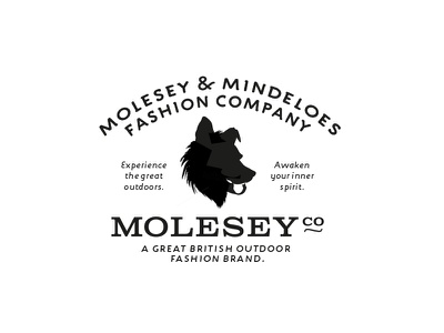 MoleseyCo: A Great British Outdoor Fashion Brand Logo by