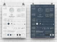 Superbly Logo Guidelines Poster - Template for Download identity guidelines logo marks logo designer brand identity logos typography branding logo portfolio logo design