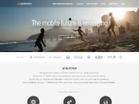 Upstream homepage