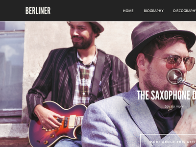 Berliner - WordPress Music Theme wordpress theme music theme music slider cssigniter events top 10