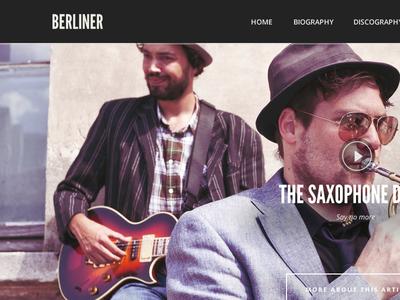 Berliner - WordPress Music Theme wordpress theme music theme music slider cssigniter events top 10