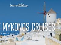 Yacht Cruises Landing Page