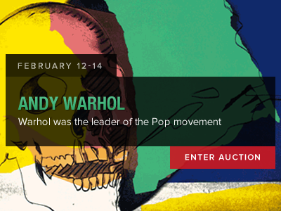 Andy Warhol Auction auction bid lot lots slider lot listing andy warhol