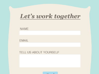 Contact form  contact web children