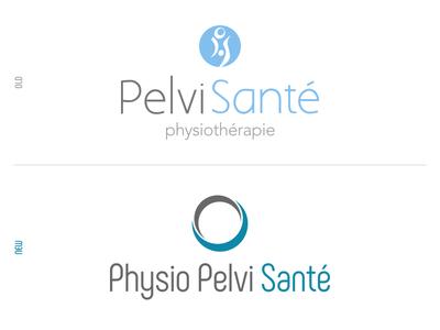 Physio Pelvi Santé | Logo visual design physiotherapy design branding typography logotype logo