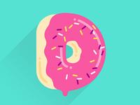 D for Doughnut