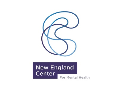 Necmh Concept mental health brand mark type identity logo