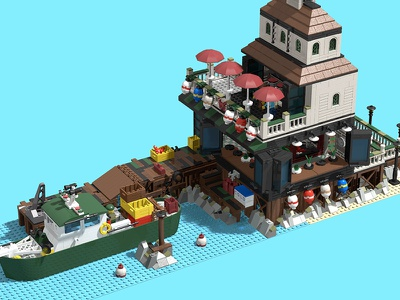 Lego - Sea to Table - VOTE NOW color brand childhood kid toy culture pop architecture design model contest lego