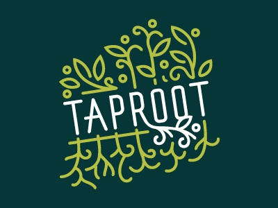 Taproot primary pattern system logo