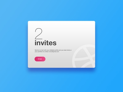 2 Invites Giveaway