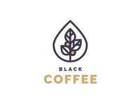 Logo Black Coffee