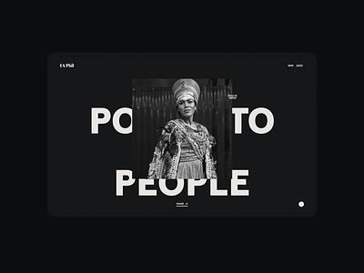 Los Angeles Philharmonic SOUNDSTAGE design interactive digital agency ux website toyfight ui