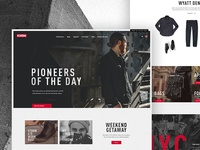 Chrome Industries Homepage
