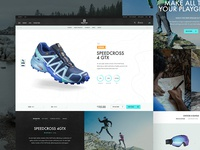 Salomon Product Page